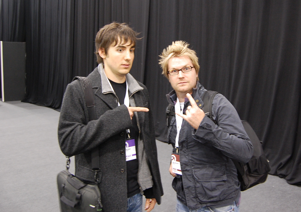 Kevin and Alex
