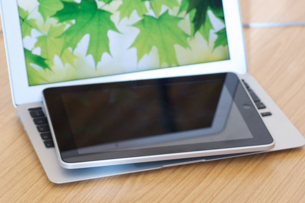 "11"" MacBook Air compared to iPad"